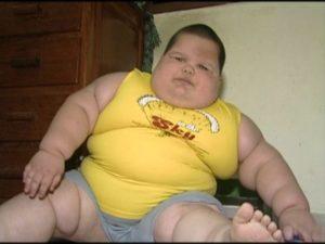 Criança obesidade - informacaobrasil.com.br