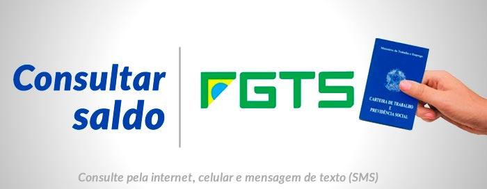 Consultar saldo e FGTS extrato