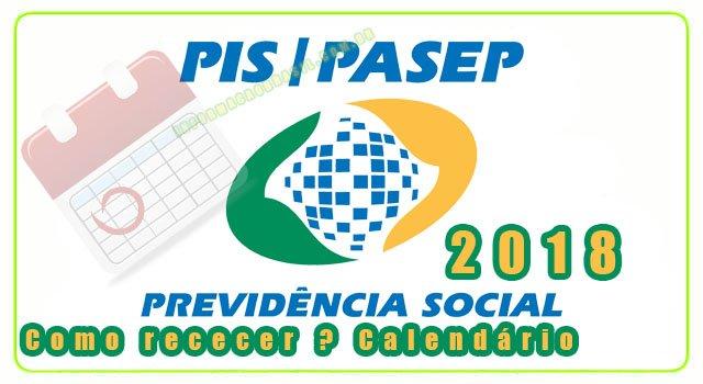 PIS 2018 - Calendário Atualizado - Consultar pis
