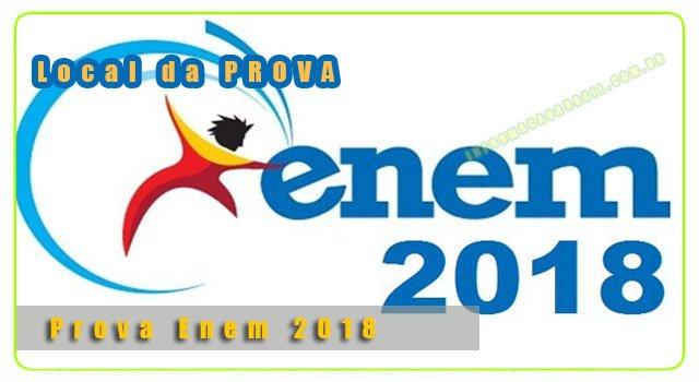 Calendário Enem-2018 - Confira o local das provas e datas do ENEM 2018